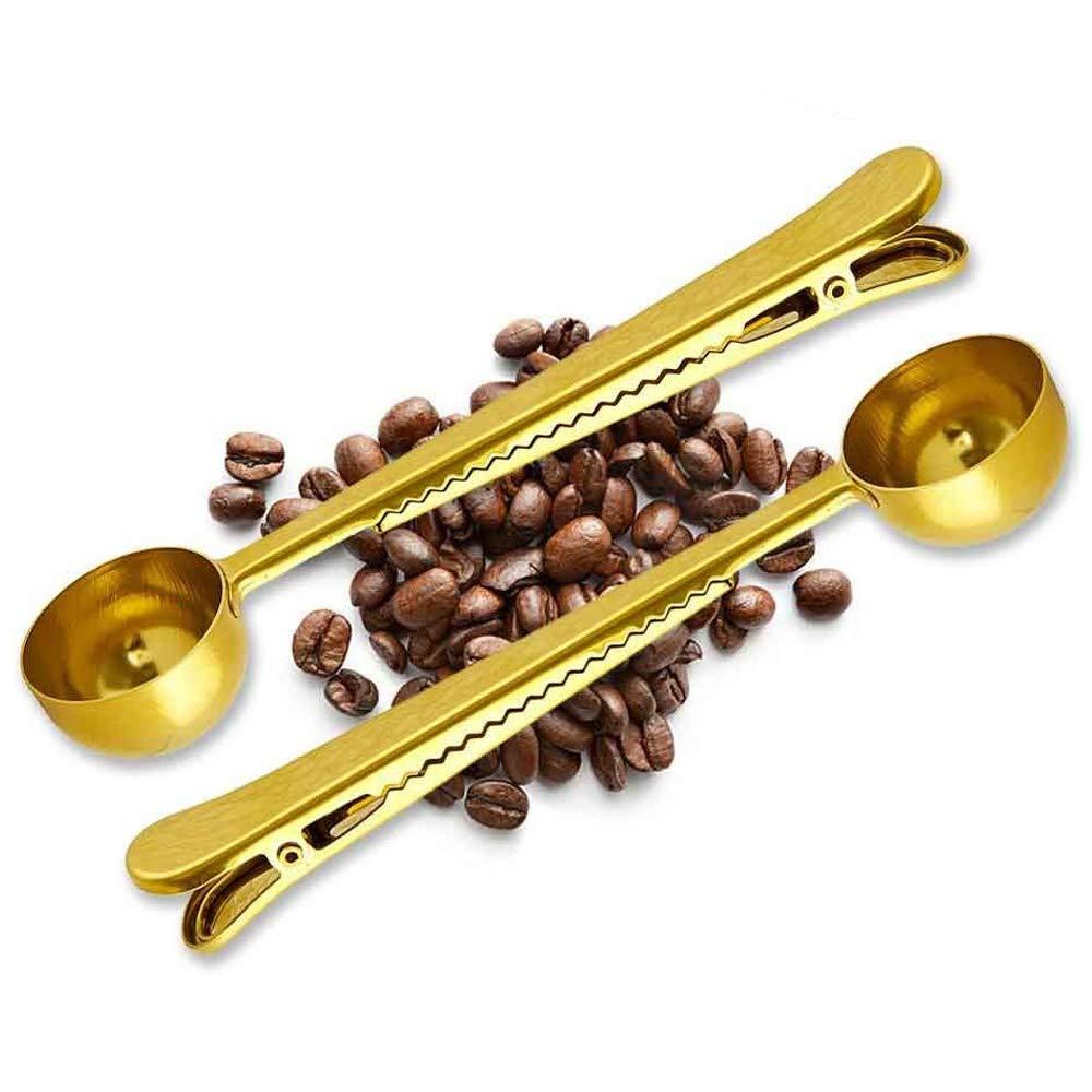 MAIYADUO Medidores de café Cuchara de Acero Inoxidable con ...