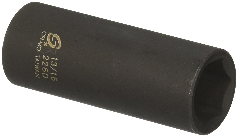 Sunex 226d 1/2-Inch Drive 13/16-Inch Deep Impact Socket