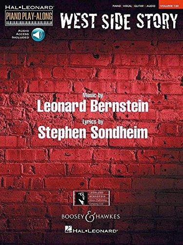 West Side Story: Piano Play-Along Volume 130 (Hal-Leonard Piano Play-Along) pdf epub
