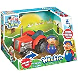 Character Options Weebledown Farm Wobbily Tractor And Farmer