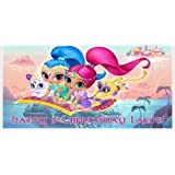 Shimmer and Shine Birthday Banner Personalized Party Decoration