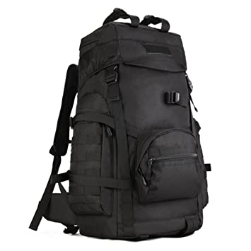 0949842424f1 Huntvp 60L Tactical Hiking Backpack Military Molle Assault Large Waterproof  Rucksack Outdoors Gear for Hunting Camping