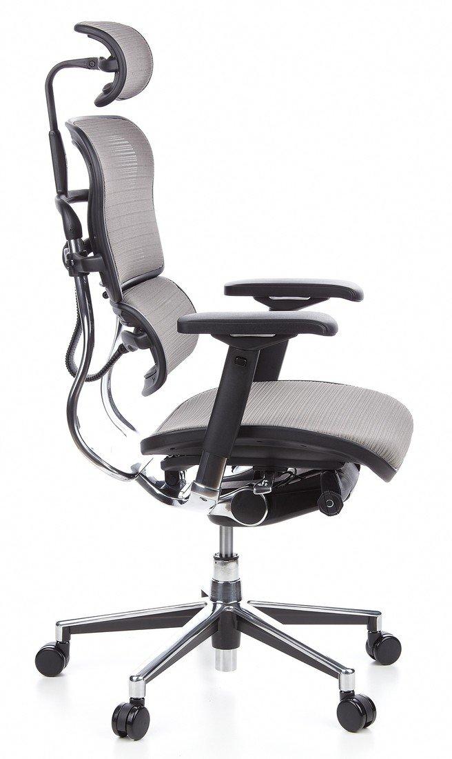 hjh OFFICE 652100 Ergohuman - Silla de oficina en malla gris: Amazon.es: Hogar