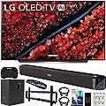 "LG OLED65C9PUA 65"" C9 4K HDR Smart OLED TV w/AI ThinQ (2019) w/Soundbar Bundle Includes Deco Gear 60W Soundbar with Subwoofer, 37-70"" Low Profile Wall Mount Kit and More"