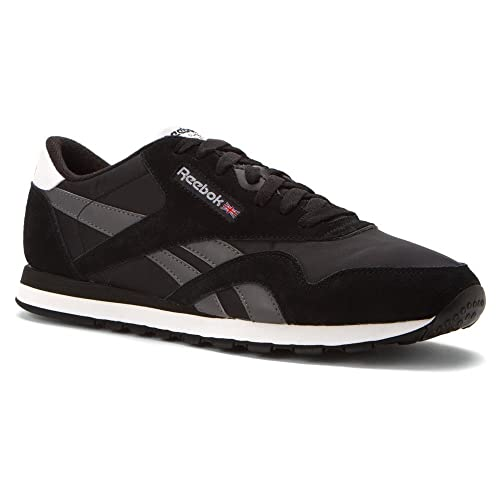 3289d861445 MENS REEBOK CLASSIC NYLON R13 SNEAKER SHOES BLACK GREY WHITE SIZE 7.5  Buy  Online at Low Prices in India - Amazon.in