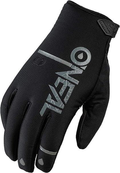O Neal Fahrrad Motocross Handschuhe Mx Mtb Dh Fr Downhill Freeride Wasserdicht Atmungsaktiv Mit Silikonprint Für Grip Bei Nässe Winter Wp Glove Erwachsene Bekleidung