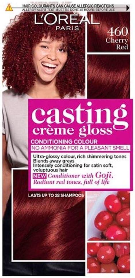 LOreal Casting Crème 460 - Crema de coloración, tono rojo cereza