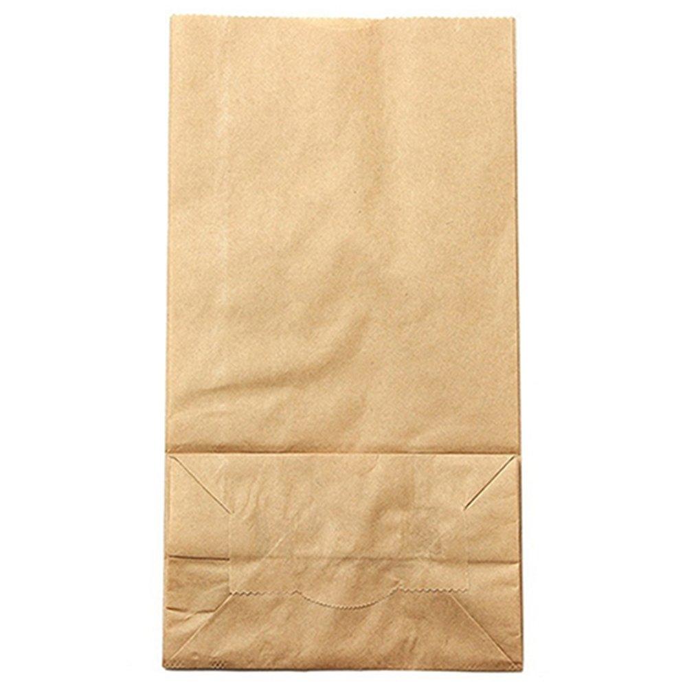 id/éaux pour des pochettes surprises des d/éjeuners /à emporter des cadeaux pour invit/és Suberde Lot de 10/sacs en papier kraft brun