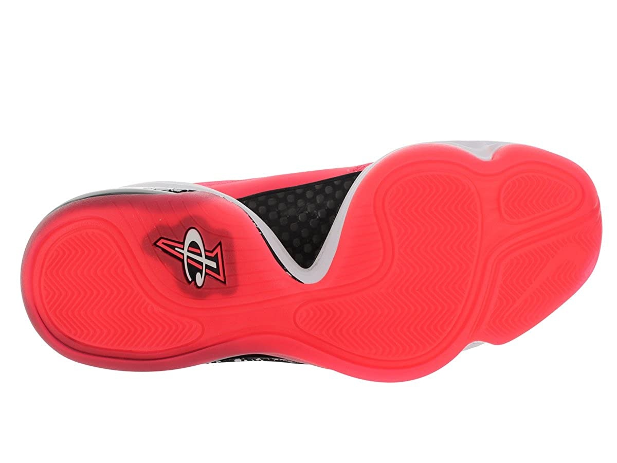 new styles 4a761 a7429 Amazon.com   Nike Air Penny V Lil Penny Men s Sneakers Atomic Red White Black  628570-601   Basketball