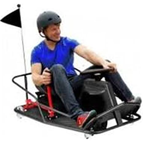 Kart Electrico Infiniton Crazy Kart Negro