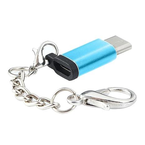 AOLVO Teepao - Adaptador de Conector Micro USB a Tipo C con ...