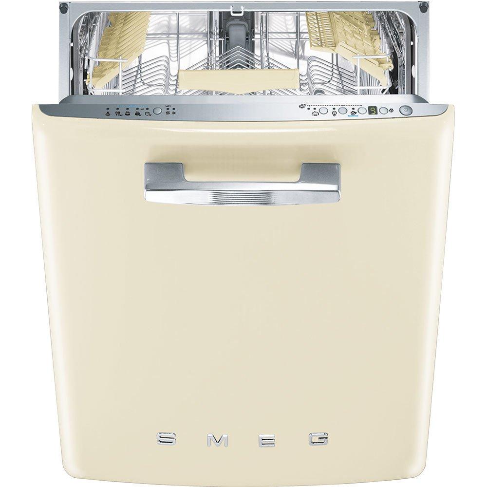 Smeg ST2FABCR Totalmente integrado 13cubiertos A+++ lavavajilla - Lavavajillas (Totalmente integrado, Tamaño completo (60 cm), Botones, LED, Acero inoxidable, 13 cubiertos)