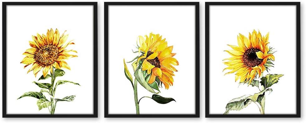 Sunflower Watercolor Print - 11