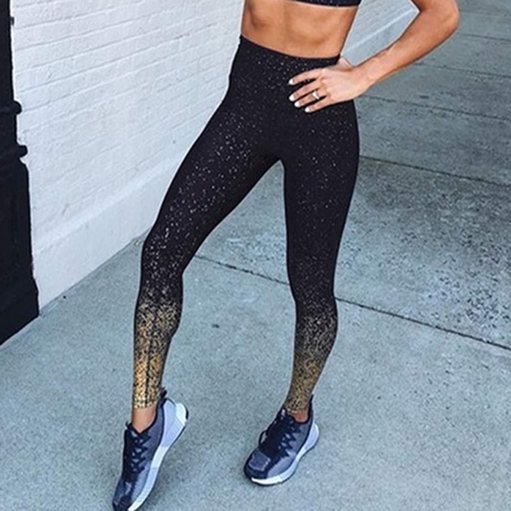 Pantaloni Donna Ginnastica Casual Leggings Push Up Donna Fitness Jogging Vita Alta Pantaloni Palestra Sportivi Moda Lunghi Tuta Eleganti Ragazza Sportivo Trousers Palestra Gym