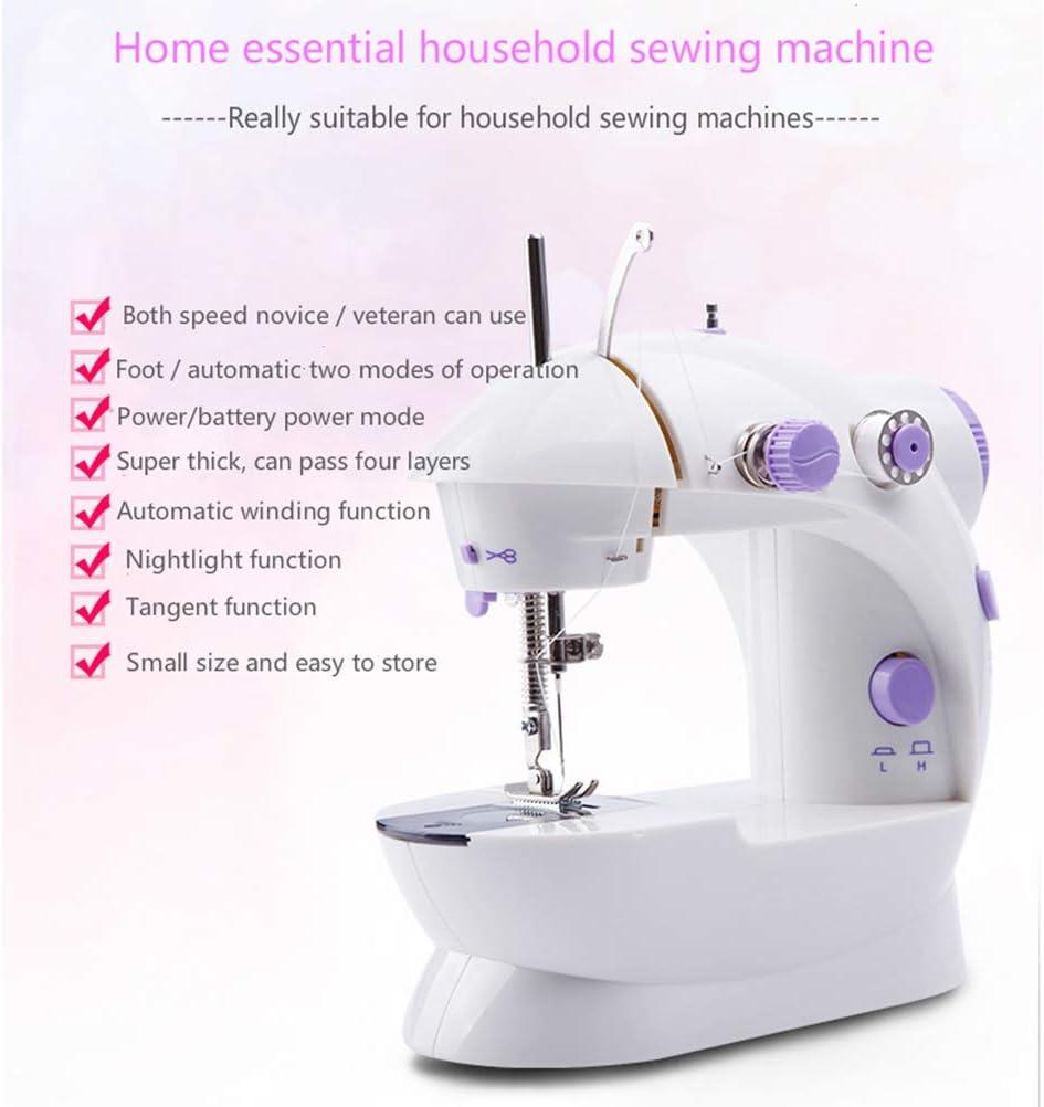 CaCaCook Mini Máquina de coser eléctrica Máquina portátil, Máquina ...