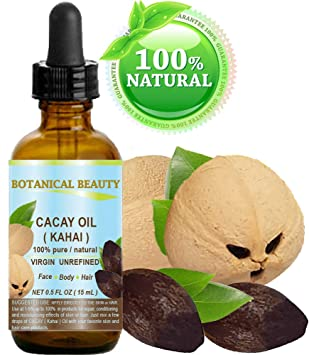 Amazon.com: CACAY (Kahai) OIL 100% Pure Natural Virgin ...