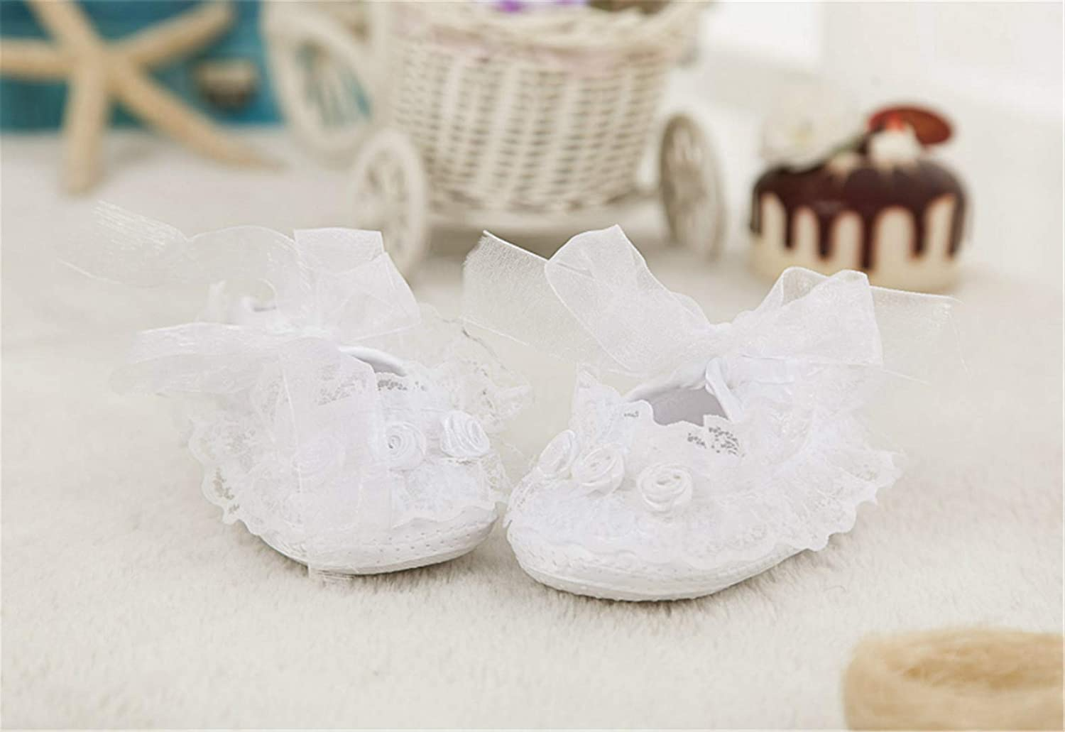 Bow Dream Baby Girls Formal Party Special Occasion Dresses 4Pcs Christening Baptism Dress