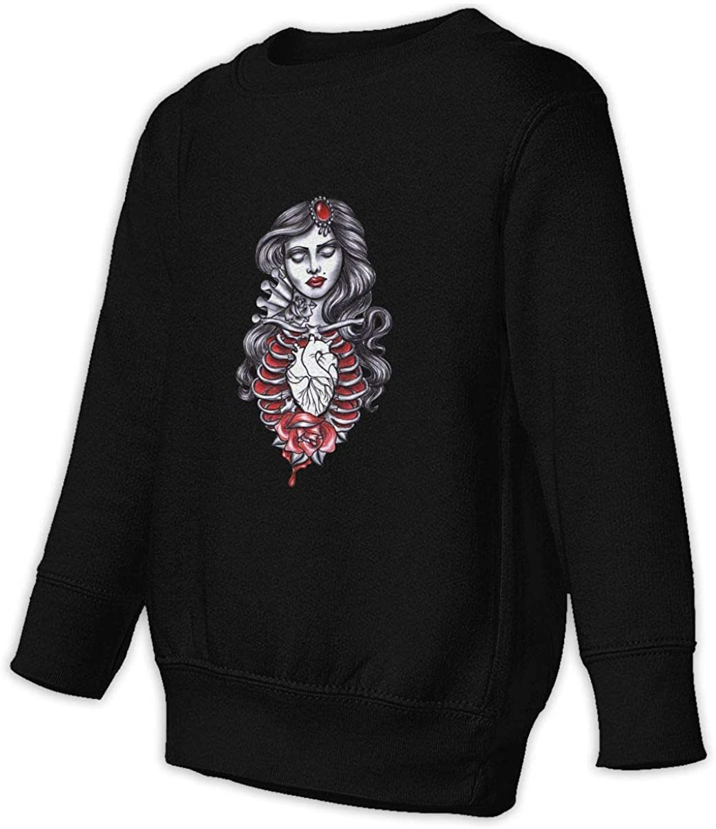 Living Dead Girl Boys Girls Pullover Sweaters Crewneck Sweatshirts Clothes for 2-6 Years Old Children