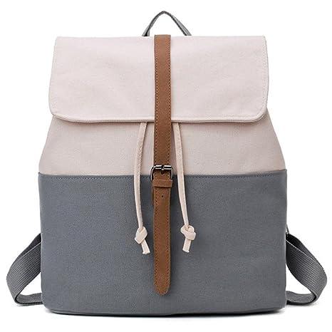 Mochila escolar para adolescentes mochilas femeninas mujeres patchwork sólido famoso informal mochila as pic show1