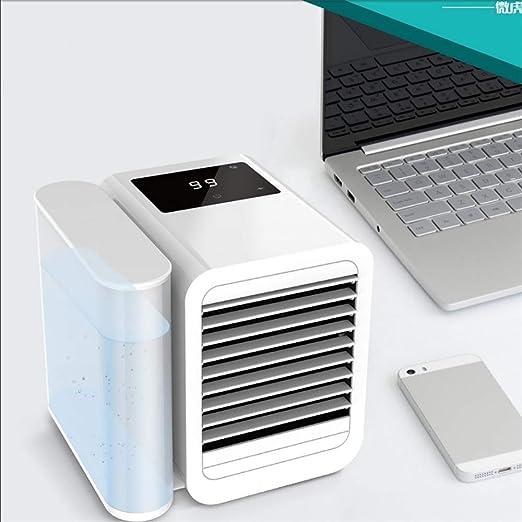 Mini Aire Acondicionado Portátil Enfriador USB,3 en 1 Ventilador ...
