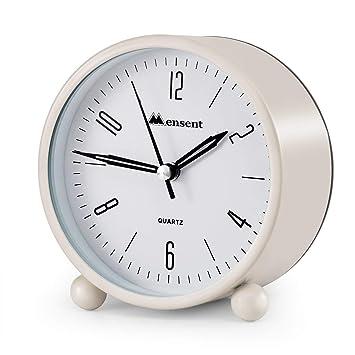 Amazon.com: Despertador. Reloj despertador analógico ...