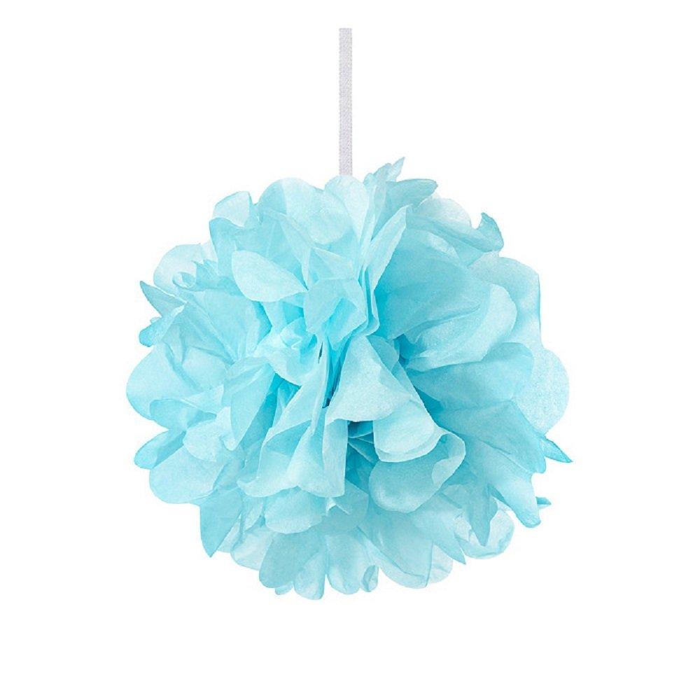 Weddingstar Paper Pom Pom, Mini, Blue
