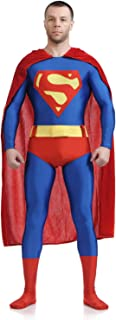 Collants Superman Cosplay Halloween Enfant Adulte Thème Fête Props Halloween,Red-M