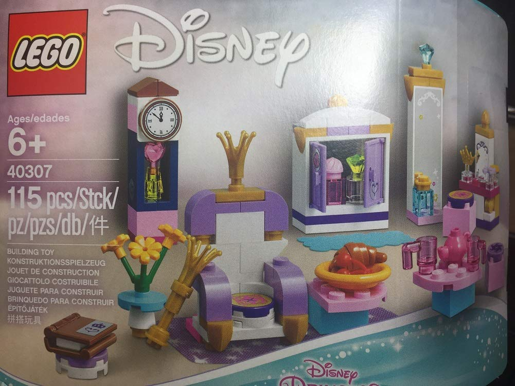 LEGO 40307 Disney Princess Castle Interior Kit 115pcs New Free Shipping