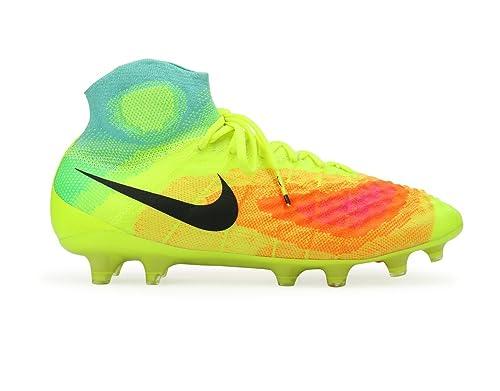 new arrival 31050 ea57e Nike Men s Magista OBRA II FG Volt Black Total Orange Shoes ...