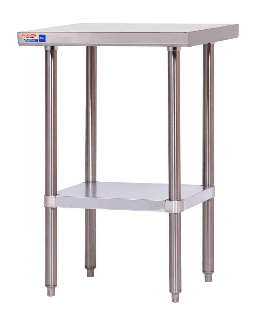 Edelstahl Tisch Mitte 600 mm extra tief Flat Top: Amazon.de: Gewerbe ...