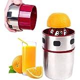 手動式ジューサー シトラス レモンジューサー ジューサーミキサー ジューサーしぼり器 レモンしぼり ステンレス製 果汁 手作り フルーツしぼり 柑橘 かんきつけい 便利 ミキサー 調理器 キッチン用品 調理道具