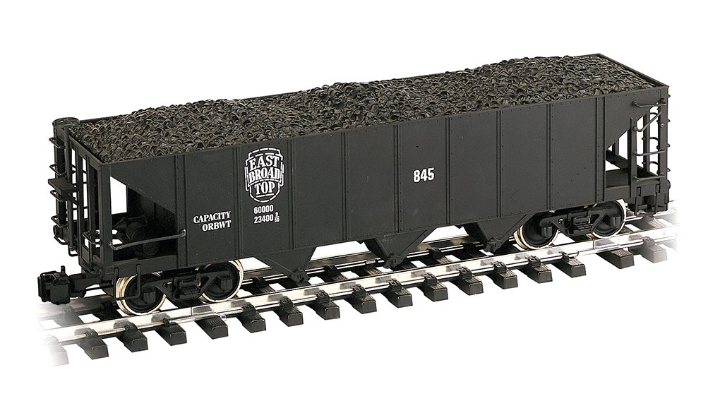 Bachmann Trains Train Rolling Stock Hopper Car East Broad Top #845 Large Scale