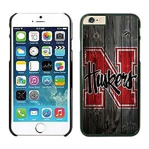 iPhone 6 Cover Case NCAA-BIG TEN Nebraska Cornhuskers 12 Black pc hard Phone Case For Apple iPhone 6 4.7 Inches