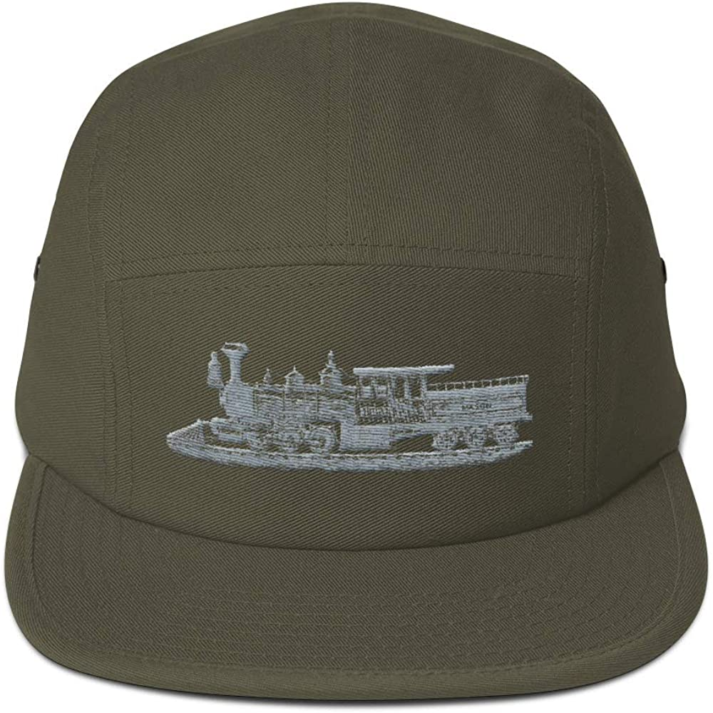 TheBagPlug Old World Big Train Conductor Five Panel Cap
