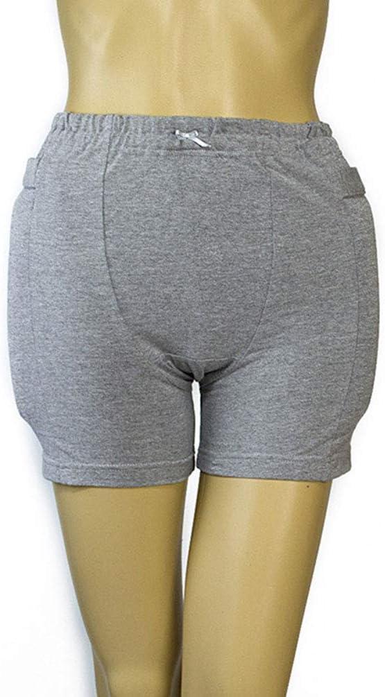 JJDD'G Pantalones Cortos Anticolisión para Hombres Protección De Caídas para Ancianos Ropa Interior De Seguridad Ropa Interior De Esponja Anticolisión para Lesiones En La Cabeza Femoral
