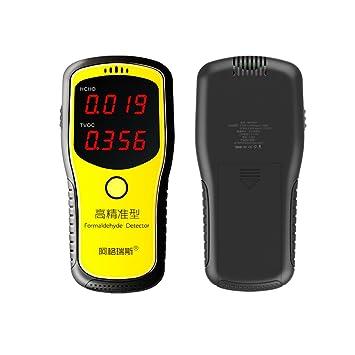 Tutoy Detector De Formaldehído Digital Hcho & Tvoc Medidor Interior Hogar Aire Calidad Tester