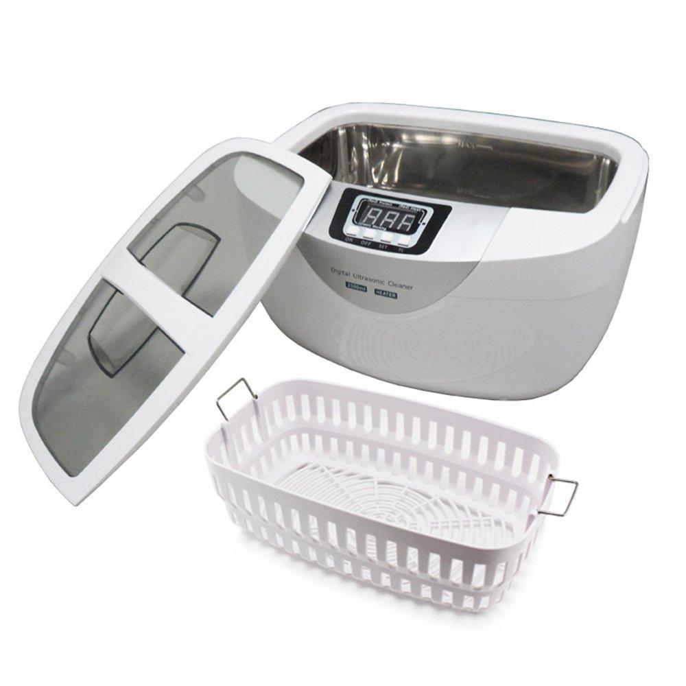 HUKOER 60W Ultrasonic Cleaner 2.5L Digital Cleaner Washer Machine with Timer Setting