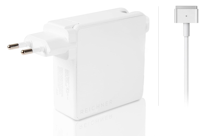 Reichner 85W Cargador PC Portátil Adaptador para A1398 A1424 Apple MacBook Pro 15 Retina [Mediados 2012 2013 2014, Mediados 2015] Mac MC975 MC976 ME293 ...