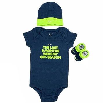 Nike Infant Boy's Off-Season 3-Piece Obsidian Set (Hat, OneZ &