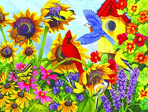 Backyard Beauties 300 Piece Jigsaw Puzzle by SunsOut