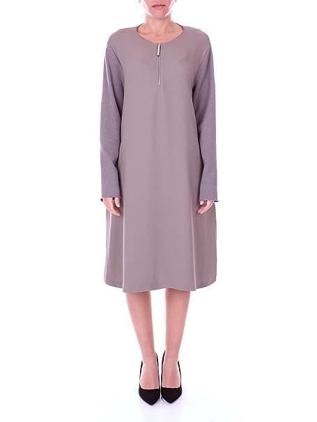 081b2c1560bb FABIANA FILIPPI AB71817Y126 Vestiti Donna Tortora 46  Amazon.it   Abbigliamento