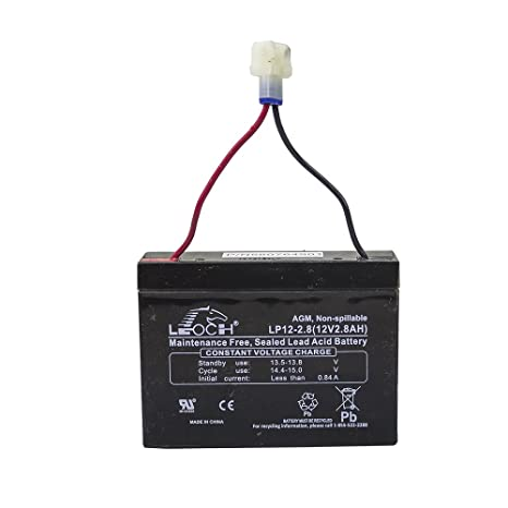 Amazon.com: Husqvarna 580764901 - Batería (12 V, 2,8 Ah ...