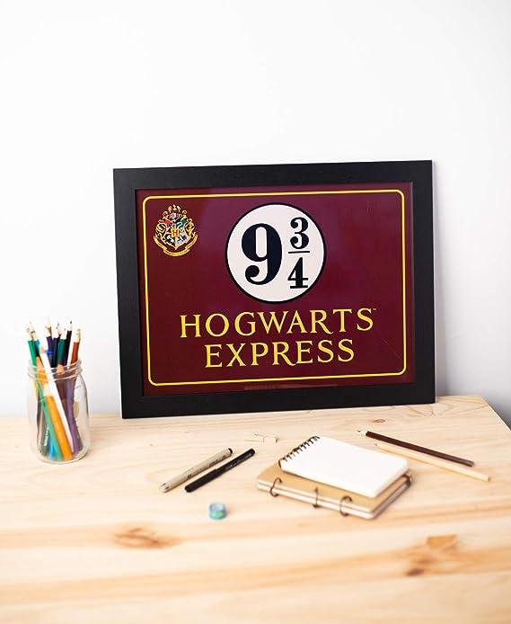 Grupo Erik PE30X40CM0009 Cuadro Decorativo Harry Potter Hogwarts Express, 30x40 cm