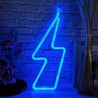 Led Light Cupido Bliksem-Vorm Schattige Decoratieve Wand Hanglamp Voor Slaapzaal Slaapfeest Bruiloft Kerst Halloween…