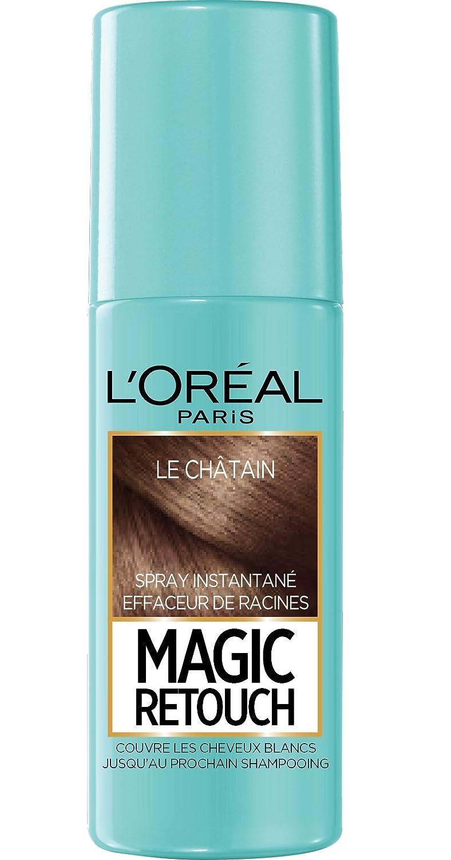 Retouche couleur cheveux loreal