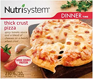 Nutrisystem® Thick Crust Pizza, 8ct. Personal Pizzas to Support Healthy Weight Loss