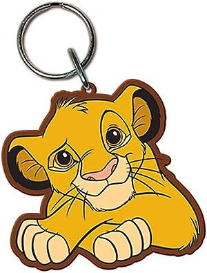 Amazon.com: Llavero de goma, diseño del Rey León de Disney ...
