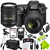 Nikon D7500 DSLR Camera with Nikon 18-300mm Lens and Nikon 18-140mm Lens 2 Lenses Bundle