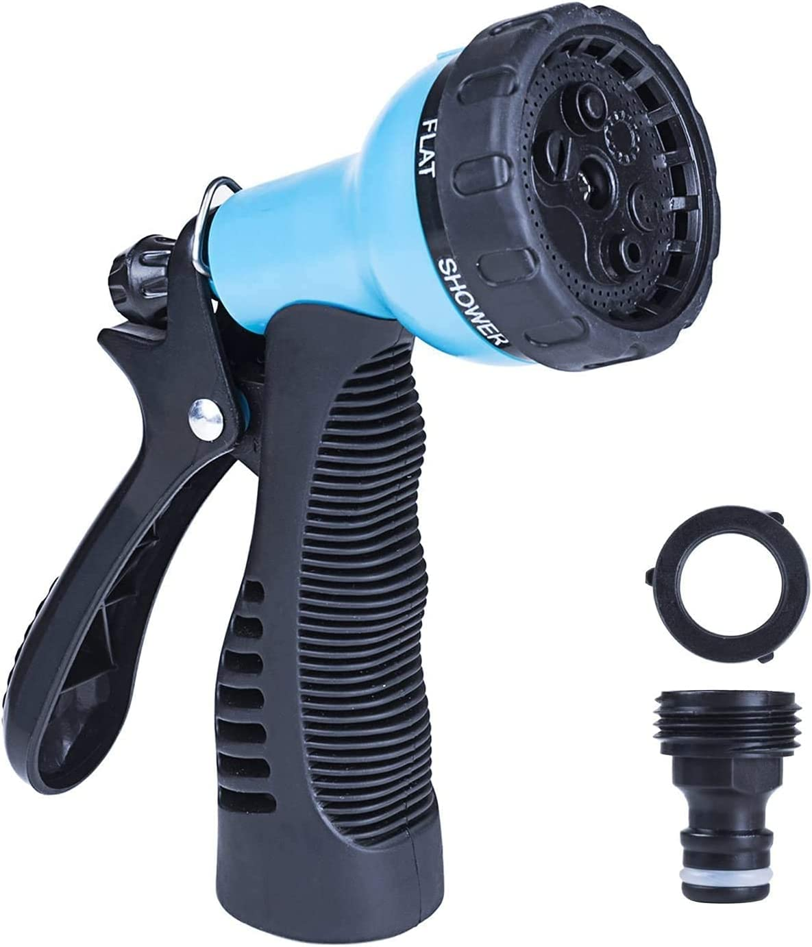 Garden Hose Nozzle/High Pressure Sprayer, Multiple Adjustable Spray Modes, Suitable For Watering Equipment, Cleaning, Car washing And Showering Pets