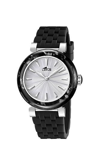 1a976801b0a7 Lotus 15852 6 - Reloj analógico de Cuarzo para Mujer con Correa de Caucho